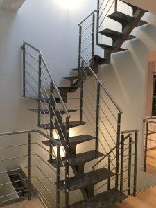Travaux rénovation escalier 1